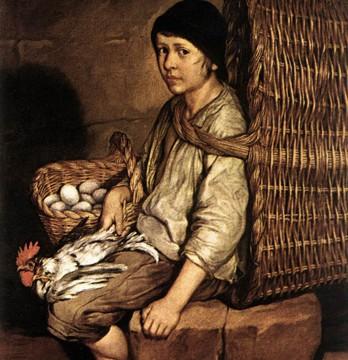 Giagomo Ceruti, Junge mit Korb, ca. 1745