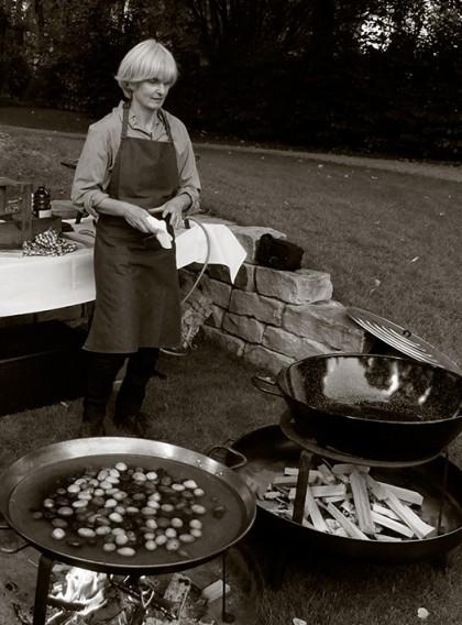 Karin Mueller Gastfreundin Catering Berlin
