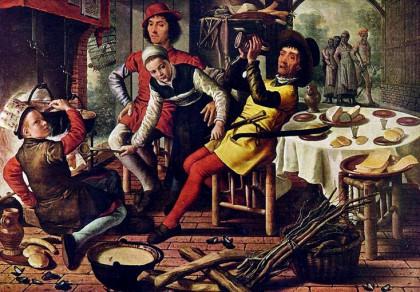 catering berlin kochen auf feuer gartenparty
